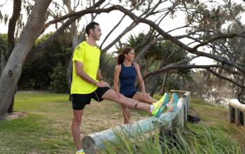 Sunshine Coast runners warm up